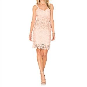 J.O.A | Ruffle Lace Bodycon Dress